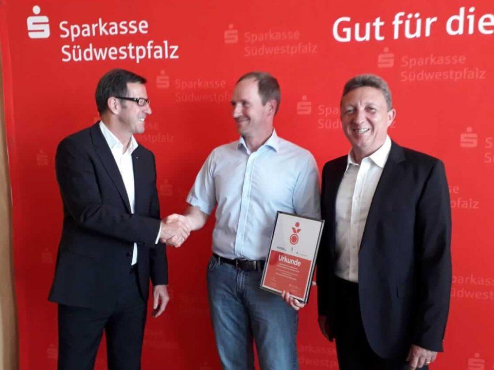 Preisübergabe Sportabzeichenwettbewerb Sparkasse