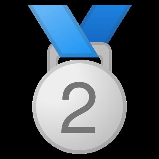 Medaille 2. Platz