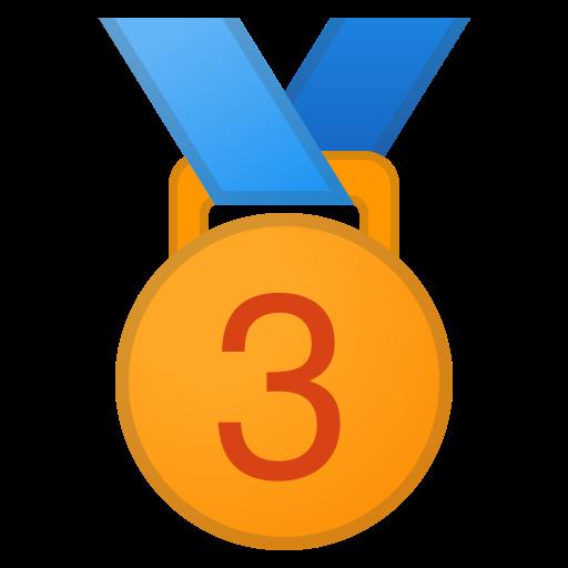 Medaille 3. Platz